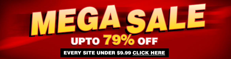 Mega Sale porn deals. All sites under $9.99