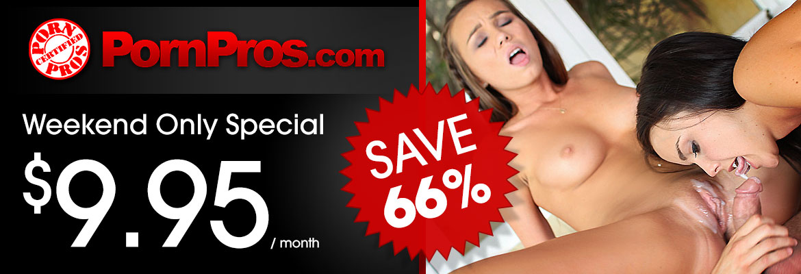 porn pros network weekend special deal